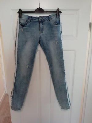 place du jour Tube Jeans pale blue