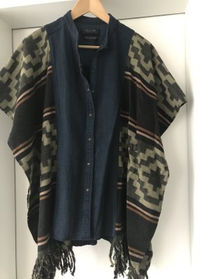 Scotch & Soda Poncho dark blue