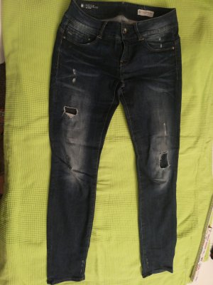 Raw Denim Life Straight Leg Jeans dark blue