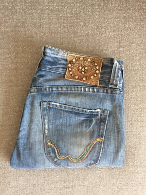 Replay Boyfriend Jeans azure