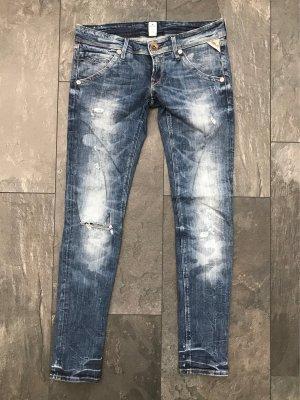 Jeans Replay Suzanne , blau/hellblau