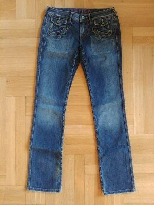 Jeans Review Gr. 30 dunkelblau