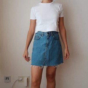 Urban Outfitters High Waist Skirt blue