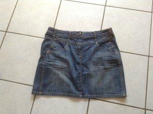 Street One Denim Skirt steel blue