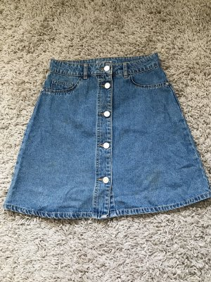 Jeans Rock A-Linie
