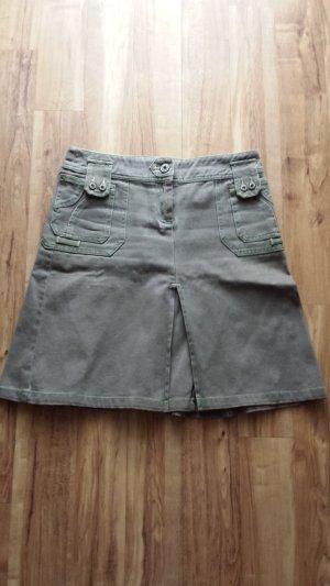 Jeans Rock Faltenrock