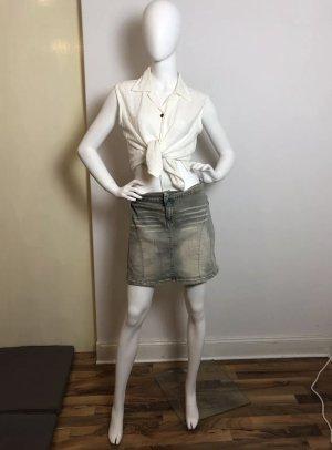 Garcia Jeans Spijkerrok lichtblauw