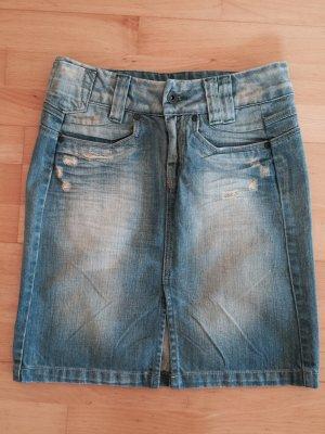 Jeans Rock Gr. 34 only denim Look