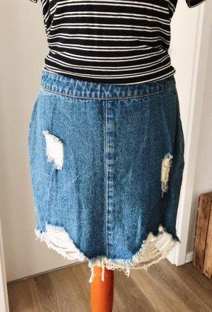 Jeans Rock Größe S Minkpink destroyed