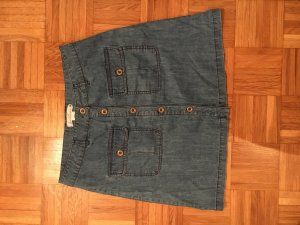 Jeans Rock H&M 38 A-Linie