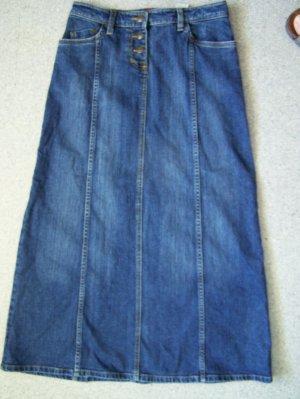 Jeans Rock H&M, Gr. 38, Denim, gebraucht