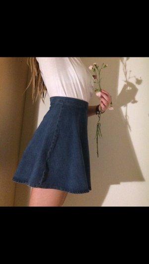 Jeans Rock High Waist