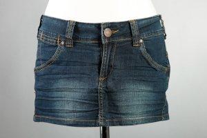 Jeans Rock, Mini Rock, Gr. S, von Madonna