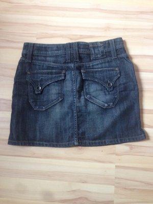 Jeans Rock Mini von Esprit Gr. 34