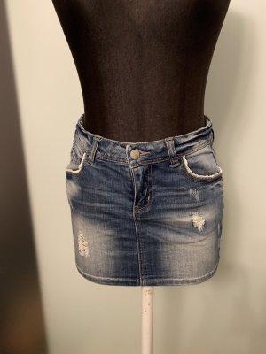 Jeans Rock Minirock Gr 34 36 S von Only
