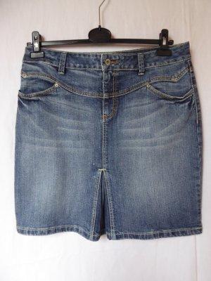 Jeans-Rock mit Falte von S.Oliver