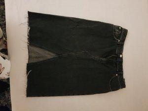 Jeans Rock Schwarz von H&M