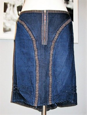 Jeans Rock super stylisch Midirock