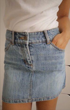 Jeans Rock von H&M Gr. 34 blau Denim