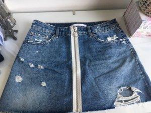 Zara Jupe en jeans bleu
