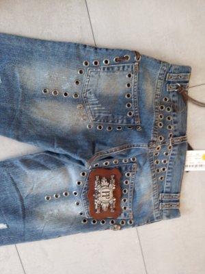 Jeans Rocker King Blue Gr. M Philipp Plein