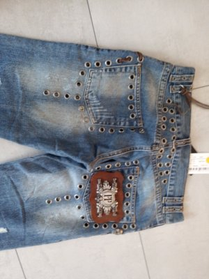 Jeans Rocker King Blue Gr. M Philipp Plein