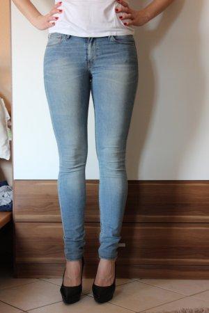 Jeans Röhre blau neu 25x32