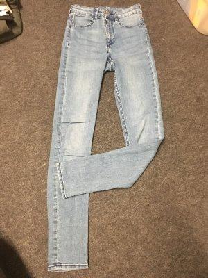 H&M Divided Tube Jeans cornflower blue-azure