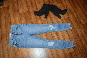 Gina Tricot Tube jeans veelkleurig
