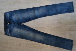Jeans Röhre Skinny Tally Weijl dunkelblau-geflinkert Gr.34/36