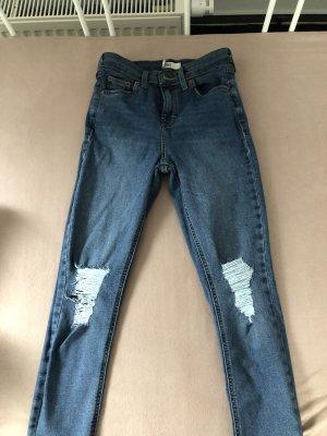 Jeans Röhren Hosen