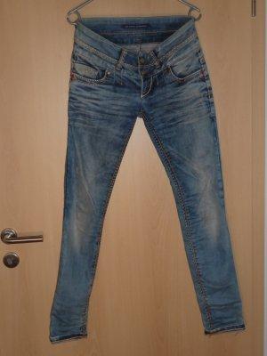 Jeans Röhrenhose