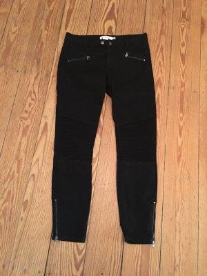 H&M L.O.G.G. Jeans da motociclista nero