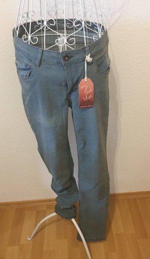 Jeans Röhrenjeans *Gr. 40* Blau *my true blue*