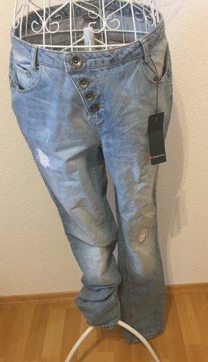 Jeans Röhrenjeans *Gr. W28 / L32* Blau *Street One*