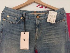 Jeans Röhrenjeans Skinny 7 For All Mankind Gr. 40 29/30 Neu mit Etikett