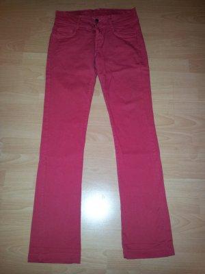 Jeans rot 36 Zara gerader Schnitt