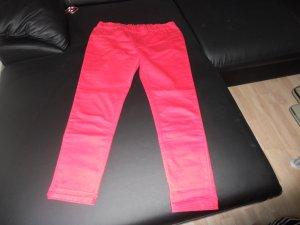 Pantalone a sigaretta rosso Cotone