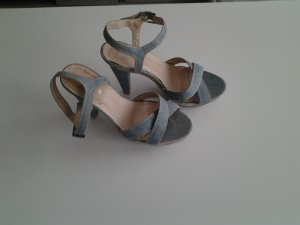 High Heel Sandal light blue