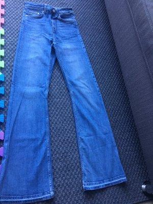 H&M Divided Spijker flares azuur