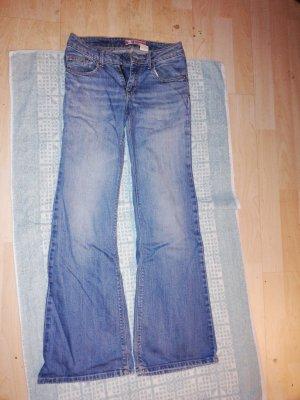 Jeans Schlaghose Gr 27