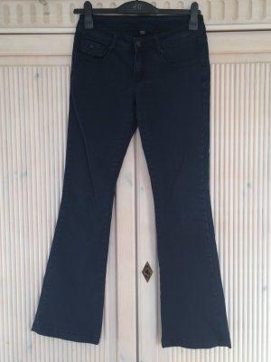 Pimkie Jeans a zampa d'elefante blu scuro