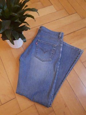 Levi's Jeans flare bleu acier