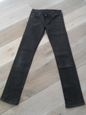Jeans schwarz, 7 for all Mankind, NEU, Gelegenheit, GR 28
