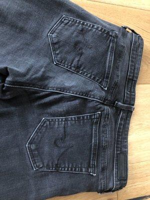 AG Jeans Skinny Jeans black