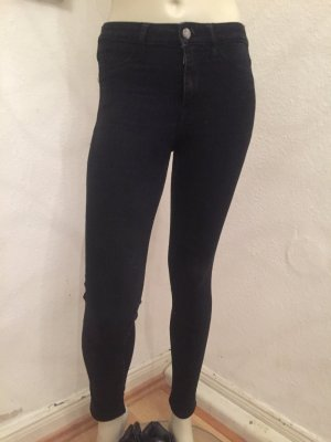 Jeans schwarz-grau Gr. 25 (XXS)
