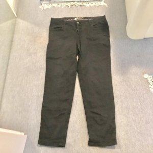 John Baner Pantalon cinq poches noir