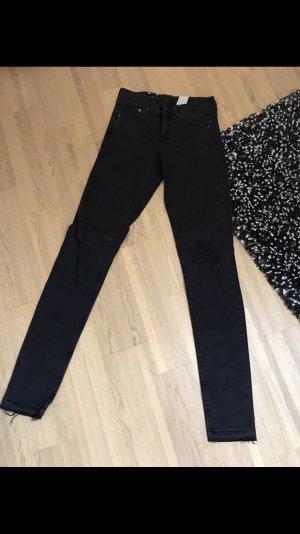 Jeans schwarz neu XS