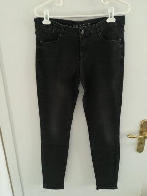 Esprit Stretch jeans zwart Gemengd weefsel