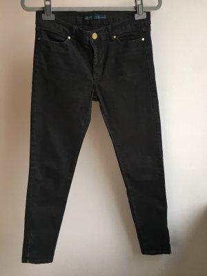 Jeans schwarz zara